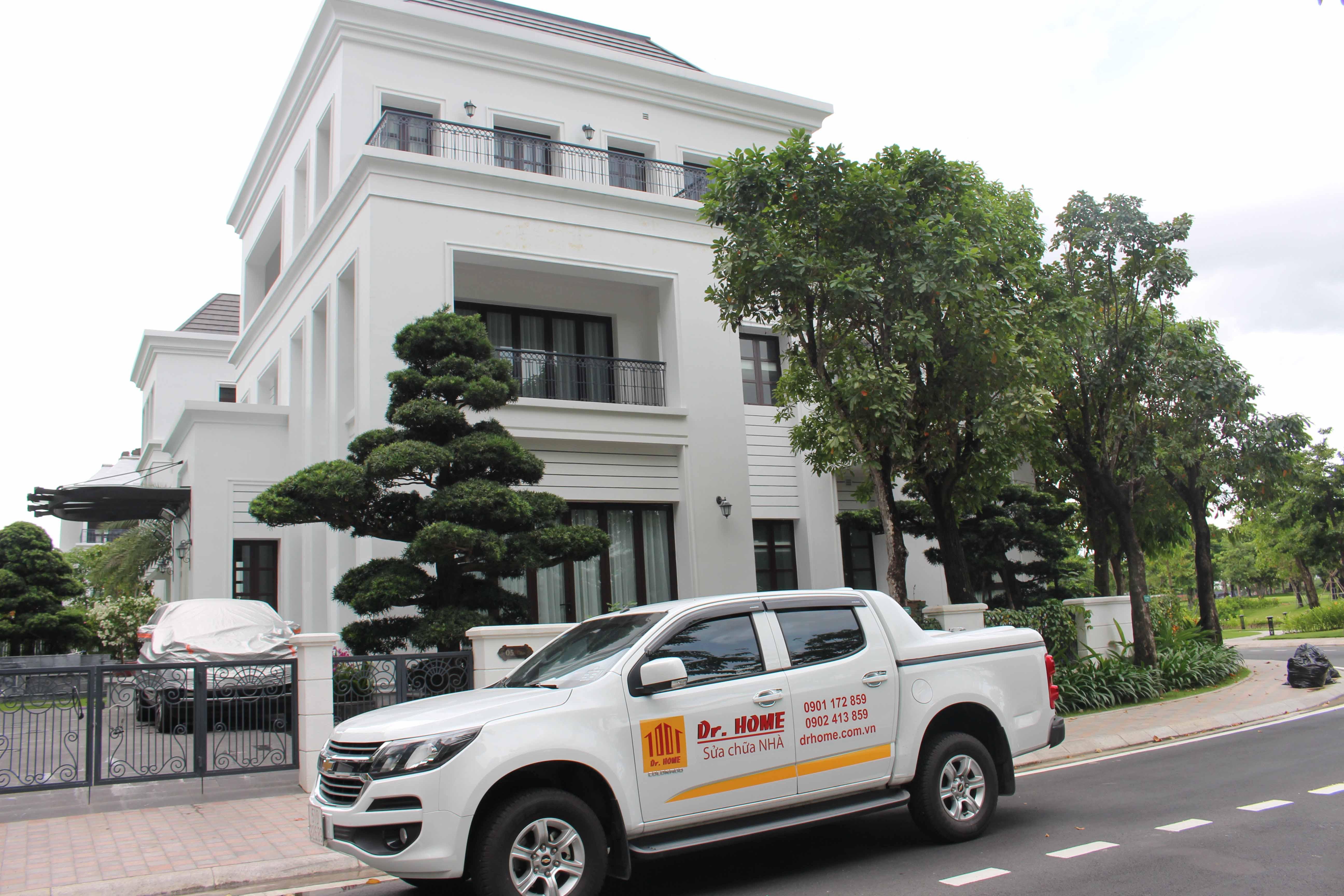 Dịch vụ sơn nước nội thất và ngoại thất