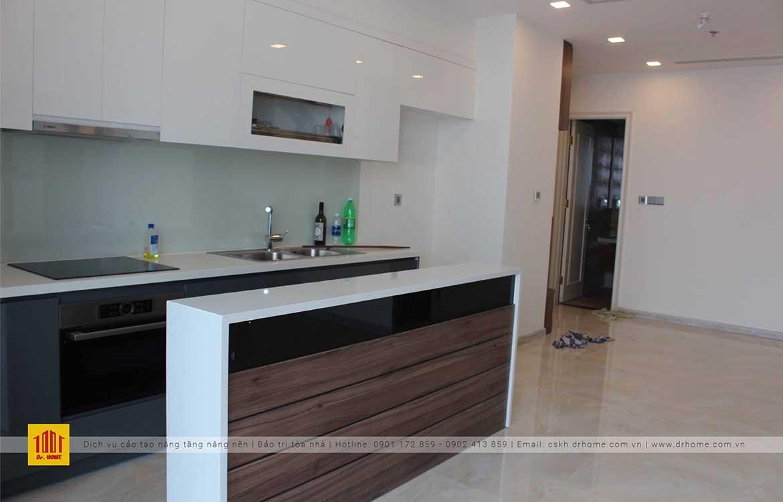 Hoàn thiện nhà bếp căn hộ Vinhome Golden River