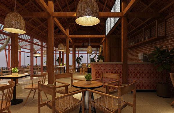 Quán cafe với không gian ấm cúng