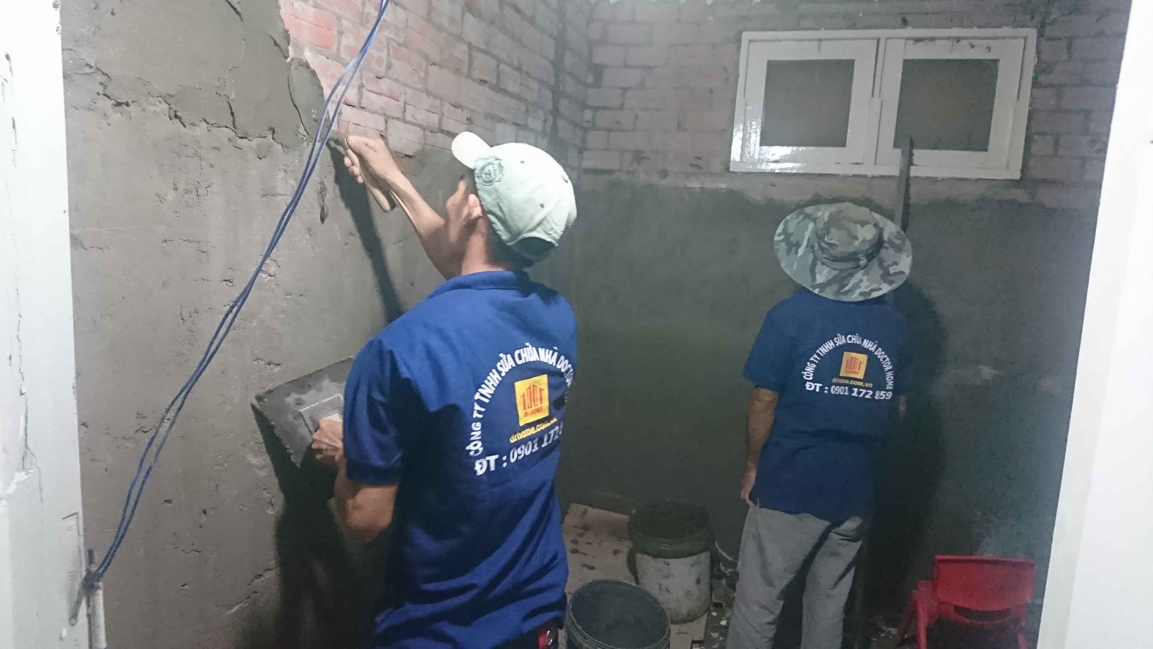 Floor and wall tiling service