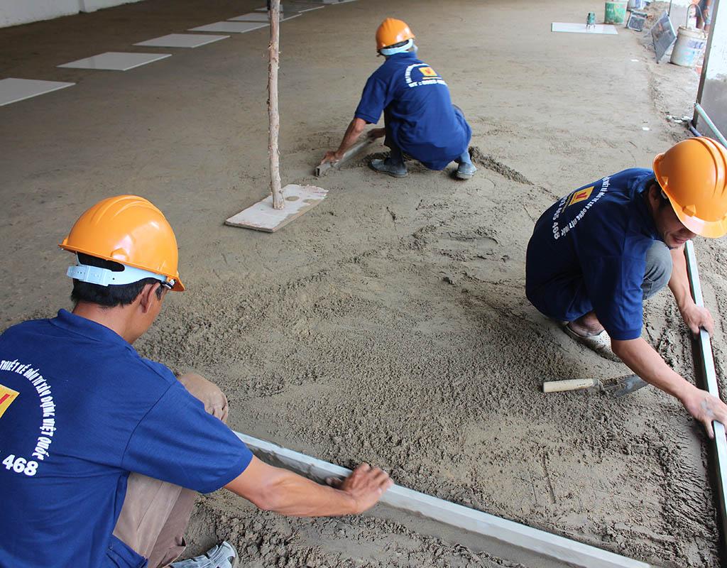 dịch vụ cải tạo nâng nền nhà