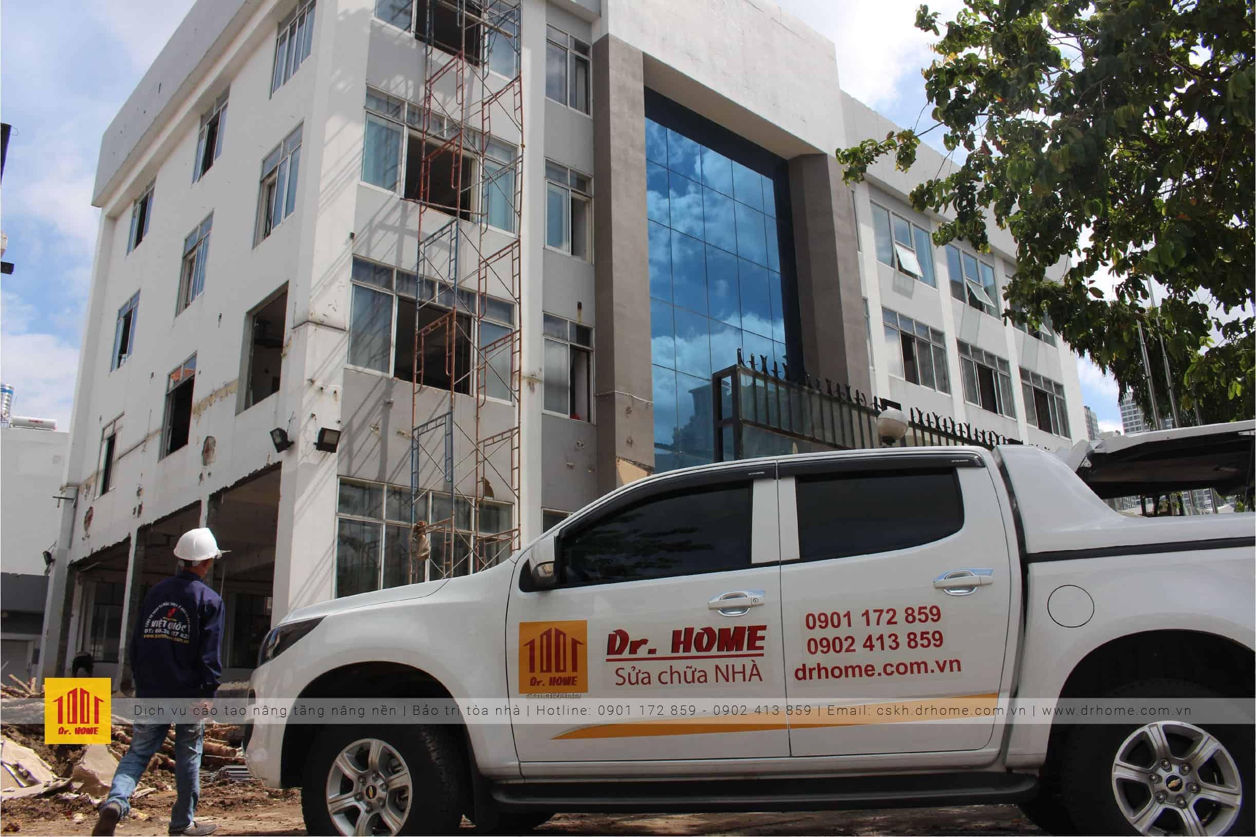 DrHome thực hiện thi công cải tạo trường Tây Úc