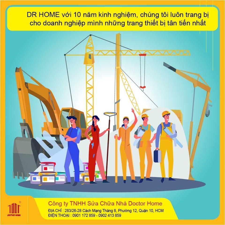 Tại sao nên lựa chọn dịch vụ cải tạo nhà, sửa chữa nhà từ Doctor Home