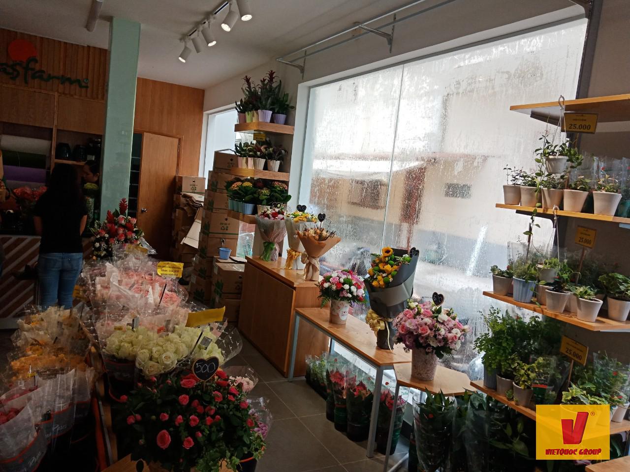 Thiết kế cải tạo shop hoa tươi