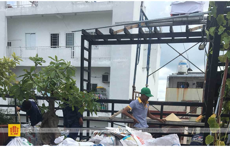 Dr Home cai tao showroom hoa Dalat Hasfarm chi nhanh Truong Cong Dinh Quan Tan Binh