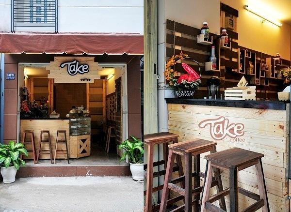 Quán cafe takeaway