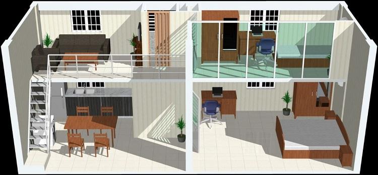 Bản vẽ mẫu cải tạo nâng tầng