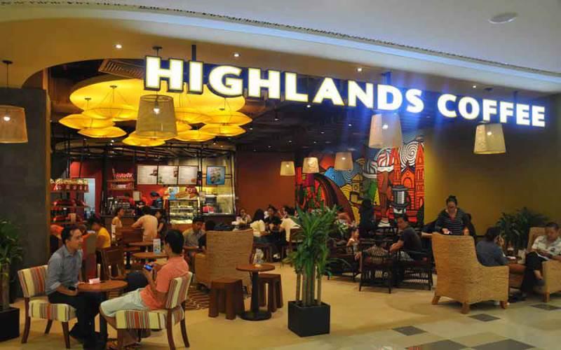 Quán cafe HighLands nổi tiếng