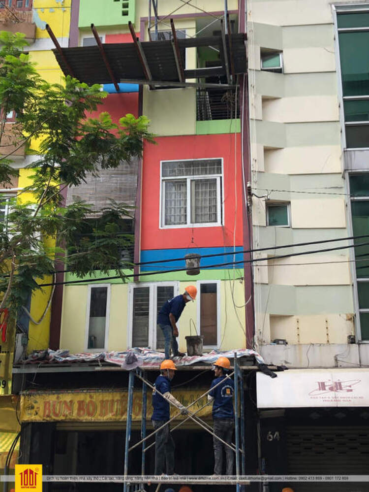 Doctor Home thi cong nang tang nha pho dia chi 66 Nguyen Thien Thuat Quan 3