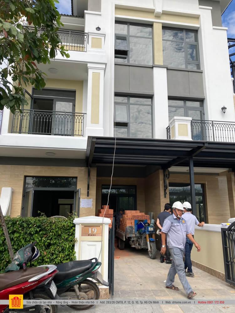 Dr Home hoan thien nha pho xay tho Verosa Park Khang Dien G15 o TP Thu Duc