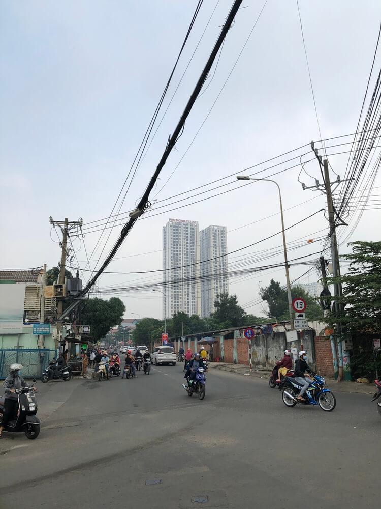 Dr Home khao sat bao tri toa nha Phu Dong Premier o Di An