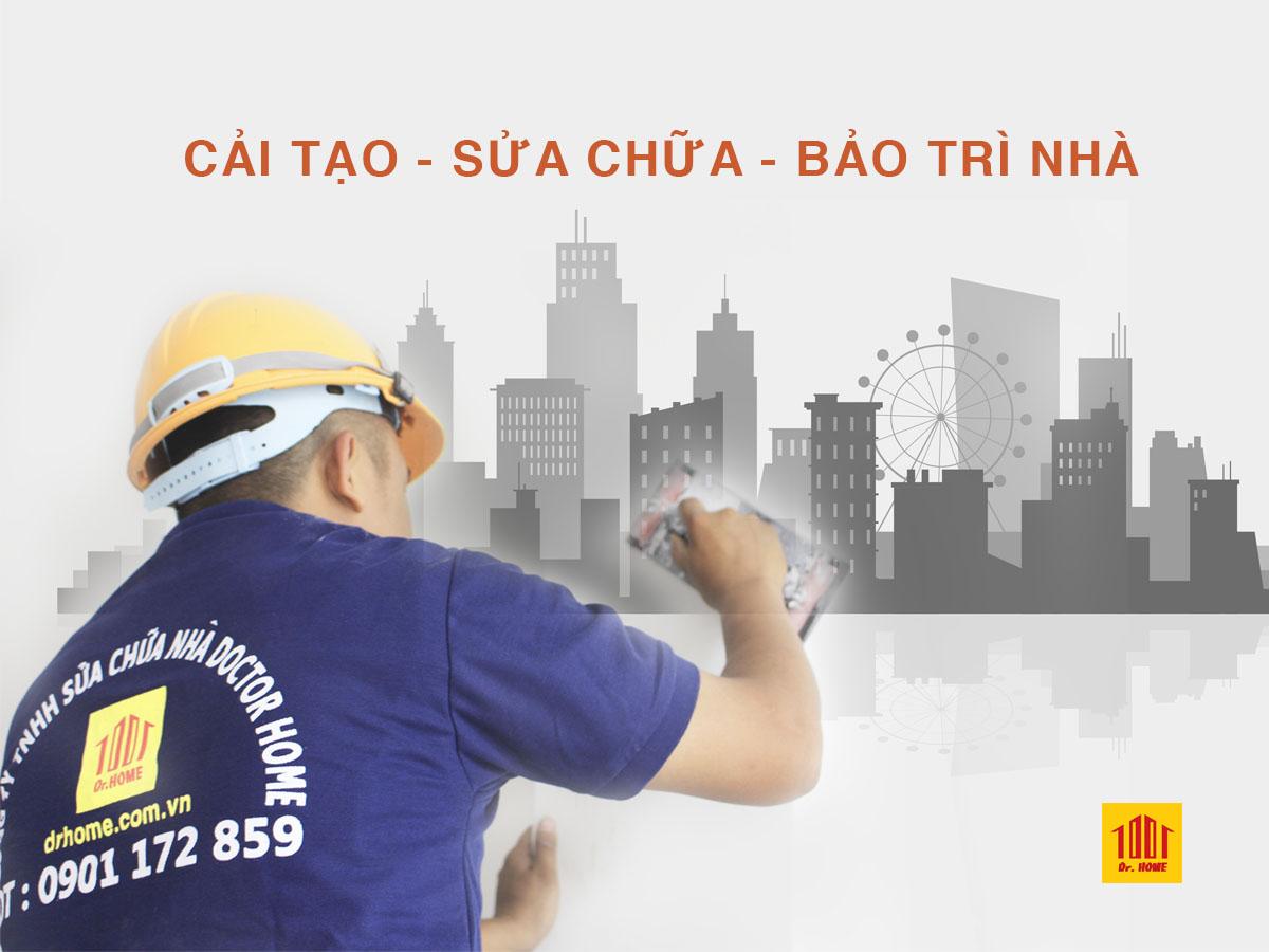 Cải tạo sửa chữa bảo trì nhà