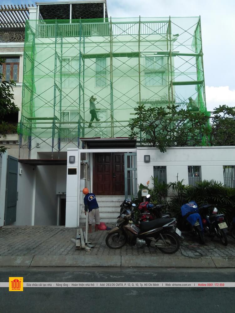 Doctor Home cai tao biet thu tron goi o Phuong Phu My Quan 7 TPHCM