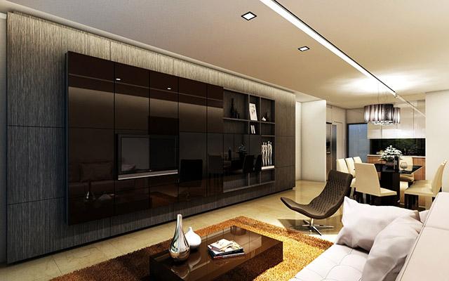 Thiết kế gợi ý cho việc cải tạo phòng khách 2