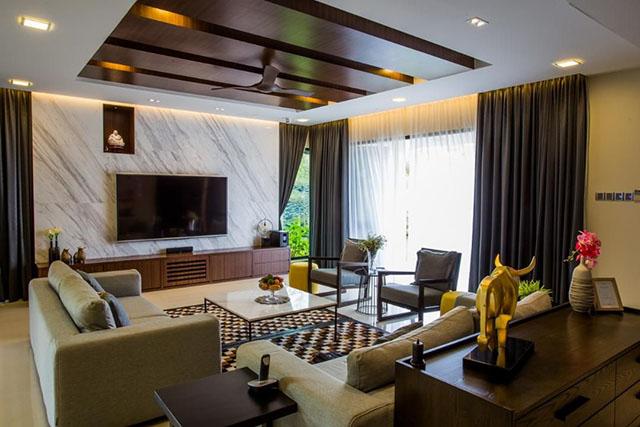 Thiết kế gợi ý cho việc cải tạo phòng khách 1