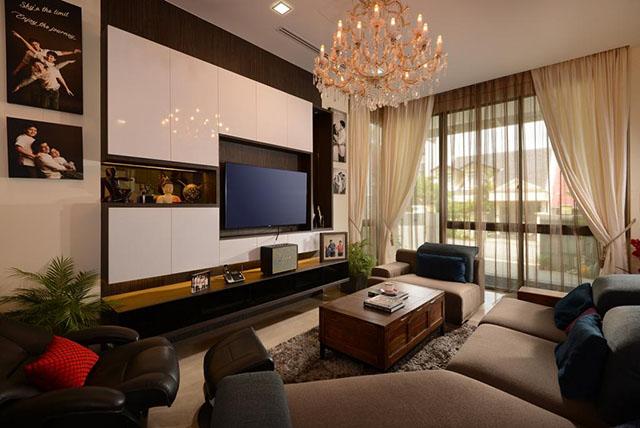 Thiết kế gợi ý cho việc cải tạo phòng khách 3