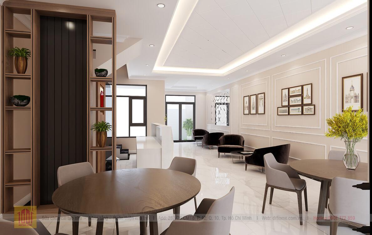 Doctor Home thiet ke phoi canh 3D nha pho Verosa Park E7 A Viet - Verosa - Tang 1 -View02