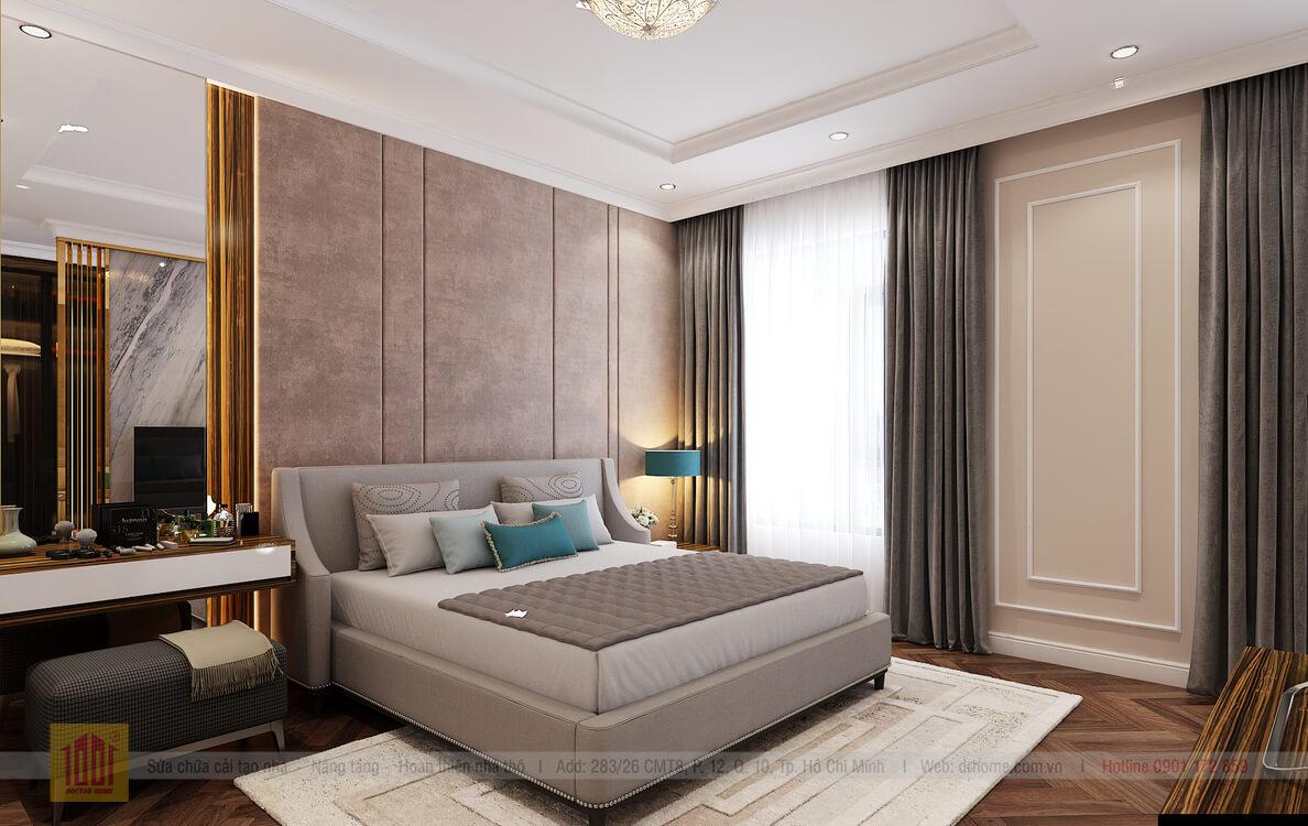 Doctor Home thiet ke phoi canh 3D nha pho Verosa Park E7 A Viet - Verosa - Tang 2 - P Ngu 1 -View04