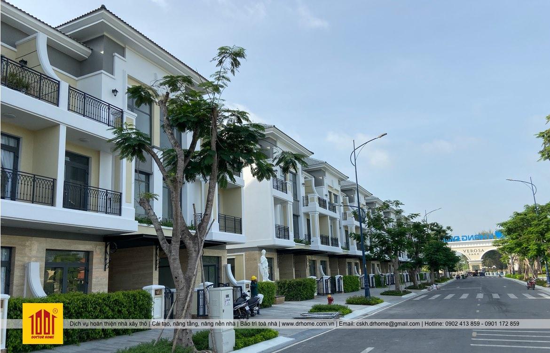 Hoàn Thiện Nhà Phố Verosa Park Khang Điền