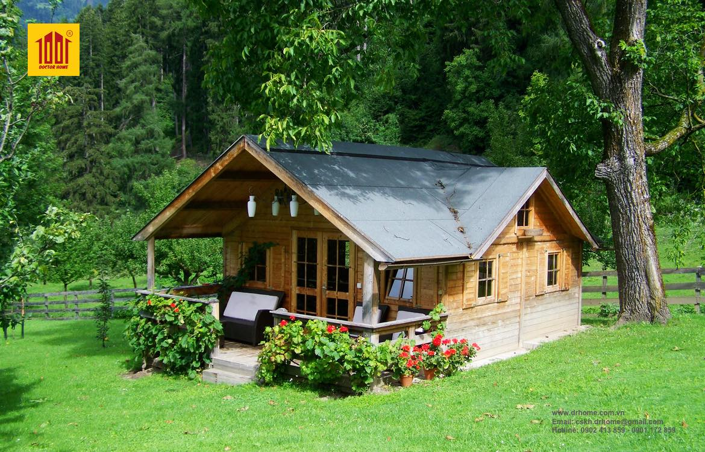 Có nhiều lợi ích cho sức khoẻ với một ngôi nhà nhỏ
