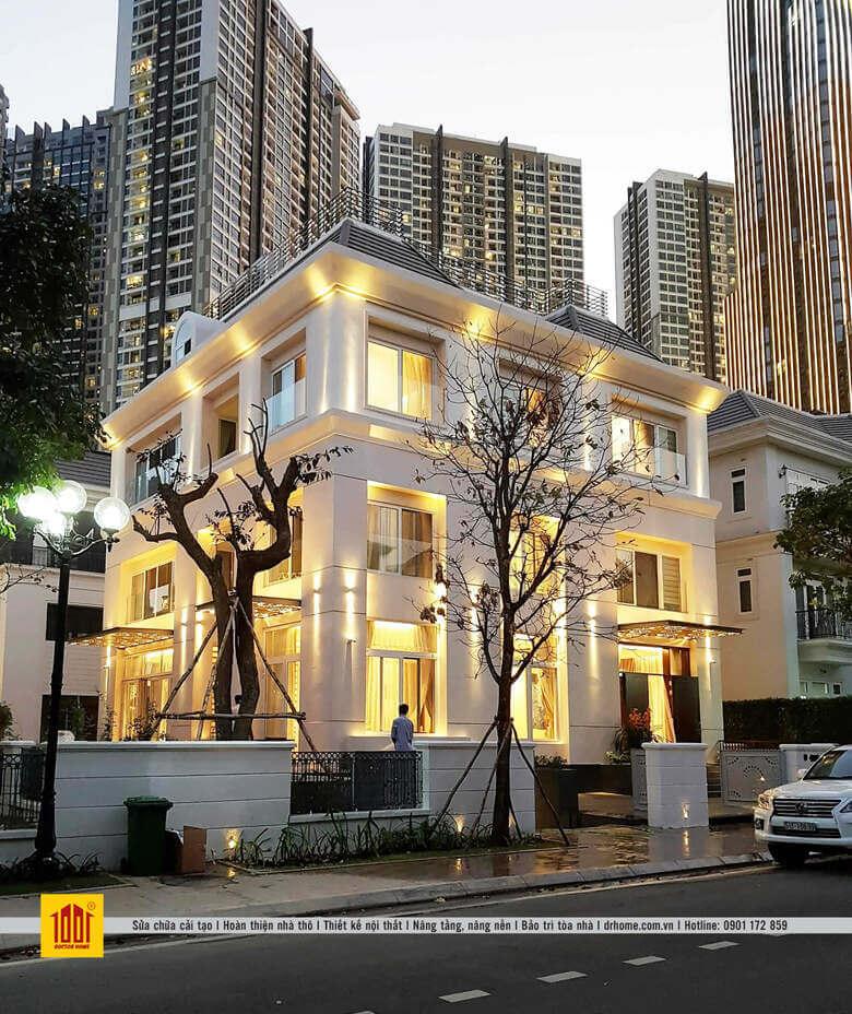 Dr Home hoan thien biet thu Vinhomes Central Park can 07 Binh Thanh