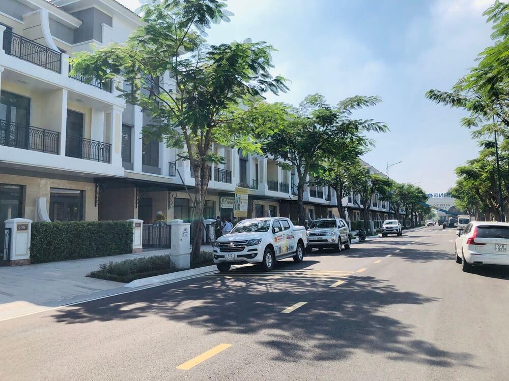 Noi khu du an compound Verosa Park Khang Dien