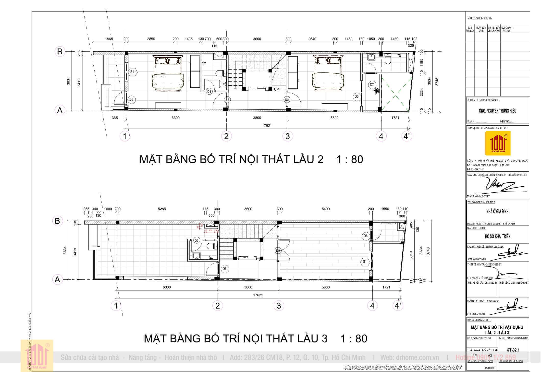 Mat Bang Bo Tri Lau 2 & Lau 3 Nha Chu Hieu 497B CMT8