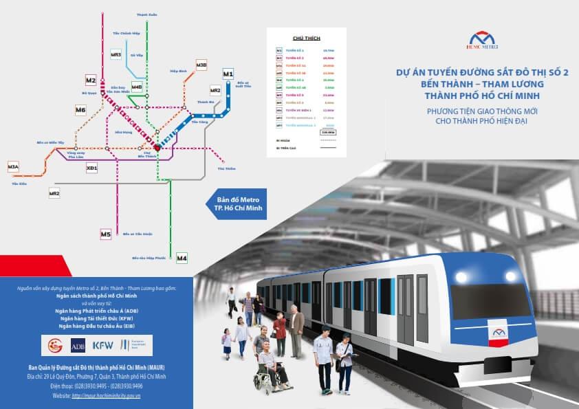 Tuyen metro so 2 Giai doan 1