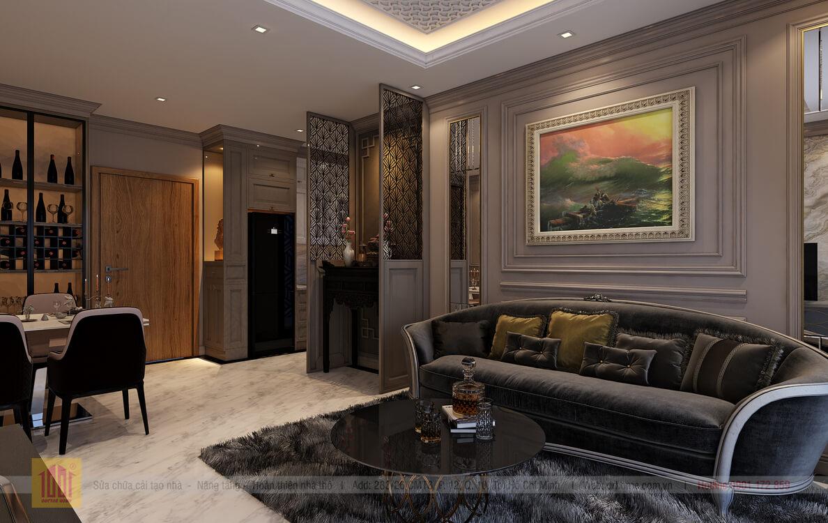 Dr. Home thiet ke cho A Thuy-Livingroom-View04