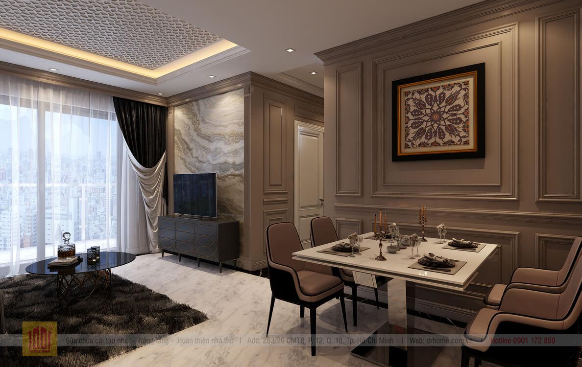 Dr. Home thiet ke cho A Thuy-Livingroom-View05