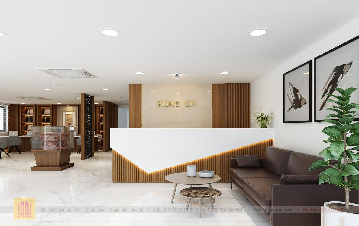 Doctor Home thiet ke sanh le tan van phong chi Hoa Q7 - View01