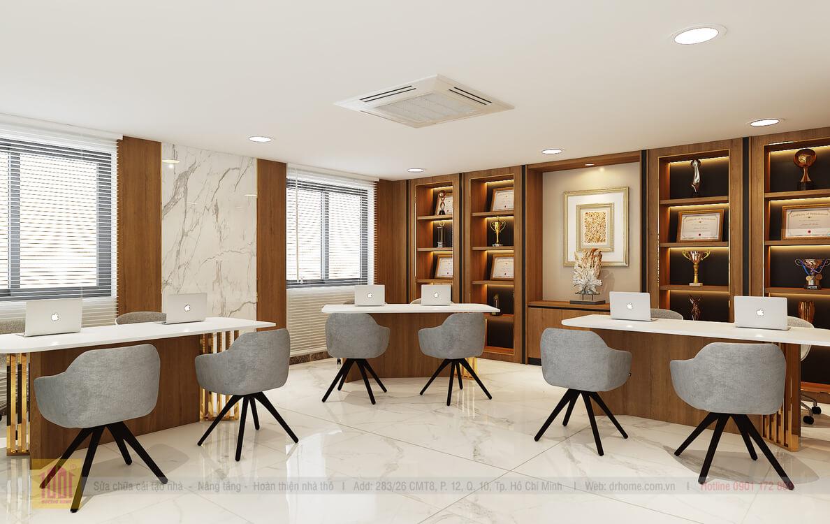 Doctor Home thiet ke sanh le tan van phong chi Hoa Q7 - View05