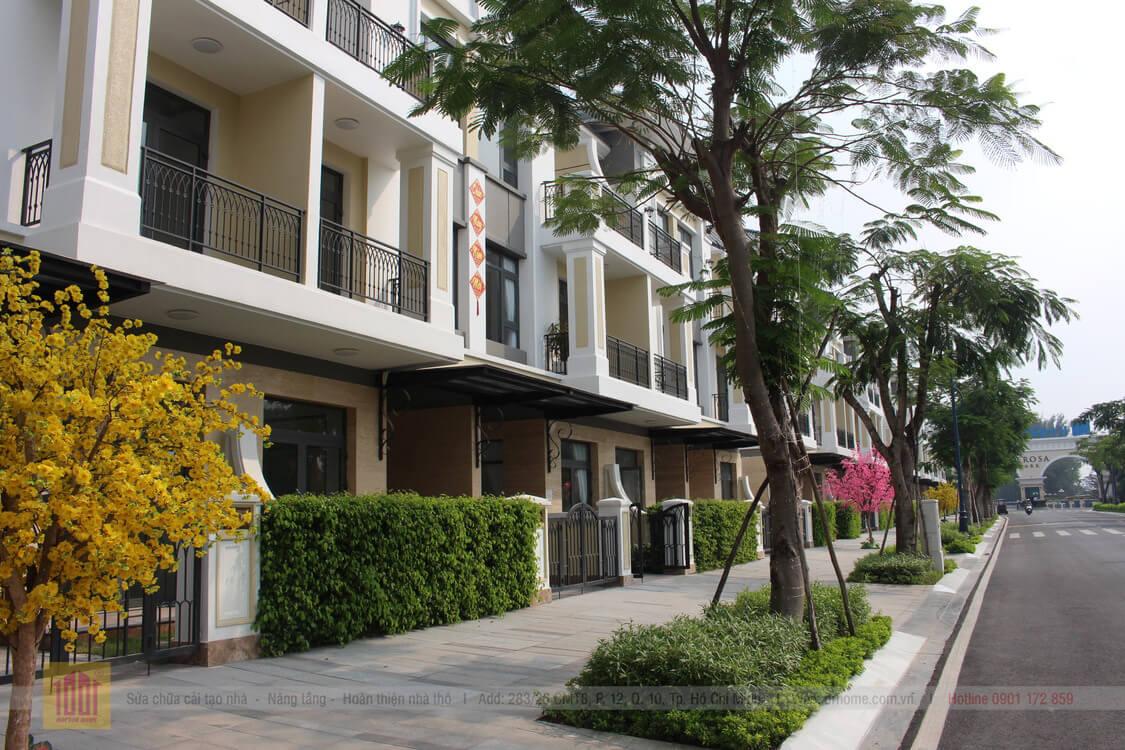 Nha pho lien ke Verosa Park Khang Dien Quan 9 TPHCM