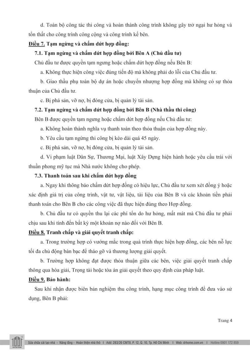 Mau hop dong xay dung nha tron goi Page 4