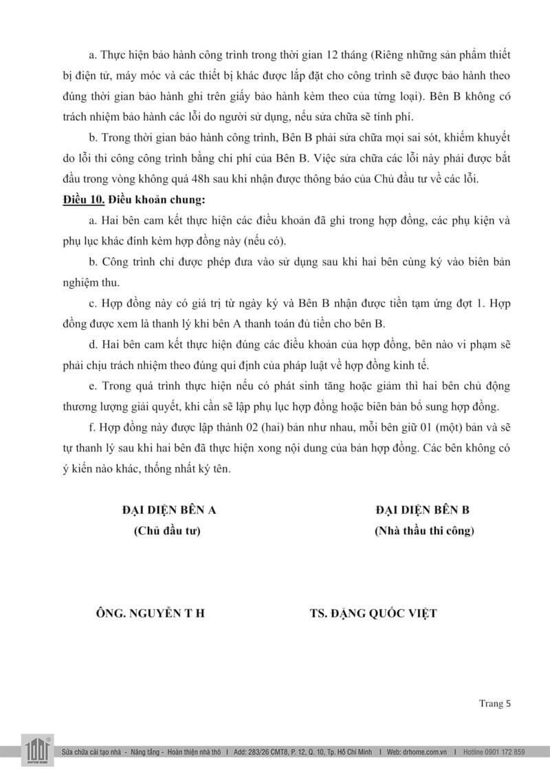 Mau hop dong xay dung nha tron goi Page 5